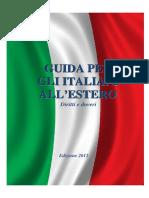 Guida Per Gli Italiani All'Estero - Edizione 2012
