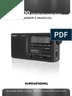Eton Grundig G1100 Manual