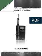 Eton Grundig M300 Manual