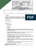PI-GE-010 Identificacion de Peligros y Evaluacion de Riesgos