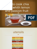 How to Cook Chia Seed Whith Lemon And