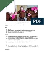Flower Corsage Cardi Pattern