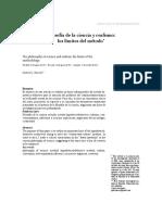 Gabriel Zanotti - Filosofía de La Ciencia y Realismo - Los Límites Del Método