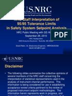 NRC 95-95, Interpretation