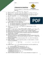 9. Boletín de Geometría Analítica