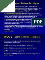 mcqspermretrievaltechniques-120620141912-phpapp02