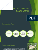 Tribal Cultures of Bangladesh