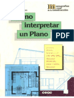 Cusa Juan de - Como Interpretar Un Plano