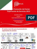internacionalización del sector servicios -peru