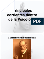 Clase 2 - Corrientes Psicologicas