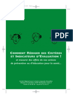 Comment Rediger Des Criteres d Evaluation
