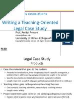 Aviram-Writing Case Studies