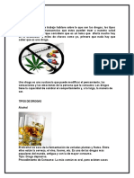 Drogas , Consecuencias y Efectos