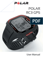 Manual Reloj Polar