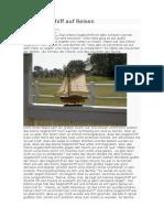 Ein Segelschiff Auf Reisen