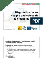 Diagnostico Riesgos Geologicos Ciudad La Paz