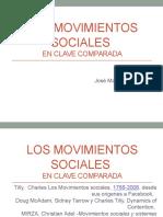 Los Movimientos Sociales en clave de comparación EXP