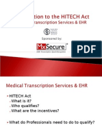 Medical Transcription Services - MxSecure