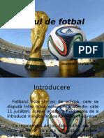 Jocul de Fotbal Stefan Teris