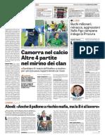 La Gazzetta dello Sport 25-06-2016 - Scandalo Scommesse