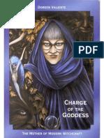 La Carga de La Diosa Dorian Valiente