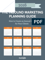 Annual Inbound Marketing Planning Guide-HubSpot