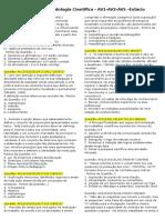 100 Questões Metodologia Científica