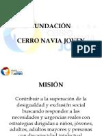 Maria Isabel Morgado Fundacion Cerro Navia Joven