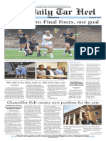 The Daily Tar Heel for May 26, 2016