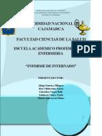 Informe Final de Internado de Enfermeria