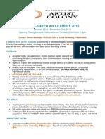 fall juried art exhibit 2016