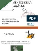 Fundamentos de La Metrologia de Presión