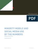 Minorities, Mobile and Social Statistics