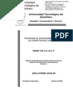 Programa de Entrenamiento de Competencias