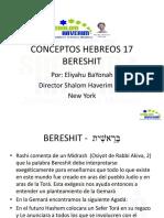Conceptos Hebreos 17 Bereshit