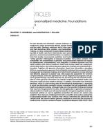 Genomic Medicine Ginsburg