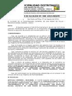RESOLUCION  N°. 088  RESOLUCION CONFORMACION DE COMITE ESPECIAL SUPERVISION