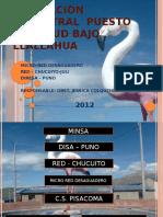 Evaluacion Semestral Indicadores 2012