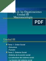 Sociología Unidad III