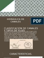 Hidráulica de Canales