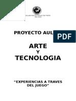 Proyecto Aulico Arte y Tecnologia