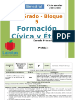 Plan 2do Grado - Bloque 5 Formación C y E