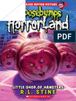 R L Stine - [Goosebumps HorrorLand 14] - Little Shop of Hamsters (Retail) (Epub)