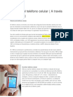 Historia Del Teléfono Celular