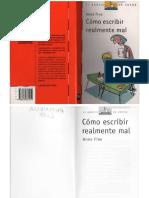 Cómo Escribir Realmente Mal.pdf