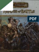 D&D 3.5 - Heroes of Battle.pdf