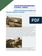 Manutenção Em Sistemas Suplementares de Segurança Passiva
