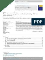 Los Avances Recientes y Perspectivas de La Epidemiología Molecular de Taenia Solium Cisticercosis