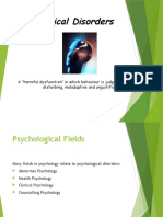 Abnormal Psychology Intro
