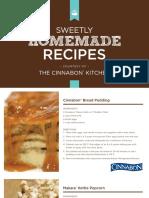 Cinnabon Homemades Recipes
